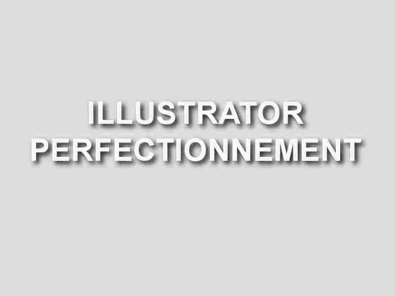 formation illustrator perfectionnement
